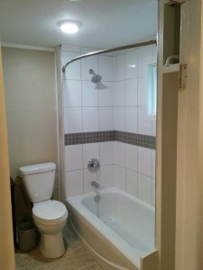 Tub surround after