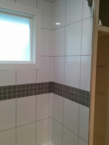 Tub surround - After